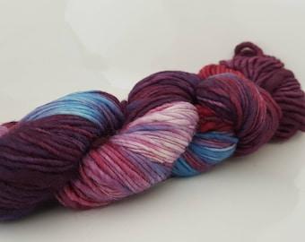 Merino wool yarn, crochet, tricot