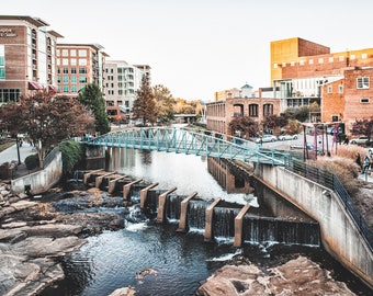 Greenville South Carolina Canvas Print