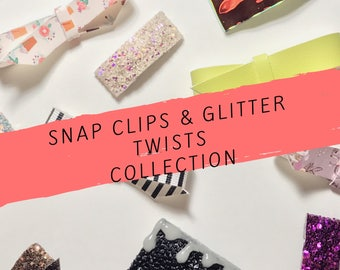 Glitter Twists Collection/Glitter Twists/Hair Clips/Limited
