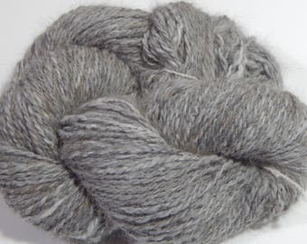 Handspun Chestnut Angora Yarn- Willow