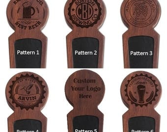 Custom Beer Tap Handle, Wood Beer Keg Tap Handle, Homebrew Beer Tap, Kegerator Tap Handle, Personalized Men's Gift