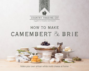 Country Trading Co. How to Make Camembert & Brie - Book
