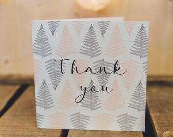 Thank you card | blank | Greeting Card