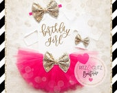Girl 3rd Birthday Outfit   3rd Birthday Girl Shirt   Pink And Gold Birthday Outfit   3rd Birthday Tutu Set   Girl 3rd Birthday Tutu Set