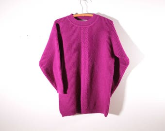 Vintage Women's oversize wool sweater by Gap Clothing CO.