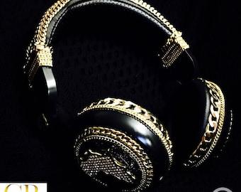 Luxury Handcrafted Custom Wireless Headphones