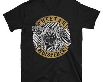Cheetah Whisperer Short-Sleeve Unisex T-Shirt