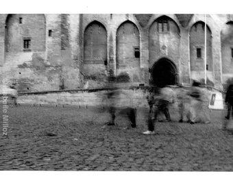 Avignon Palais des Papes fine art format 18 x 24 cm