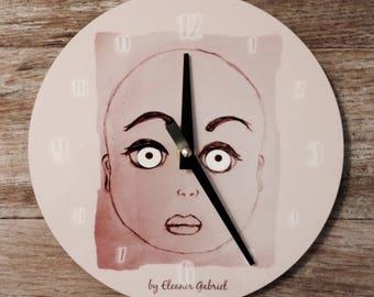 """Original wall clock """"Lunar"""" Innocence"""""""