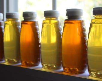 Spring Honey, Raw Wildflower Honey, Raw Honey, All Natural Honey, Honey, 8oz bottle Pure Honey