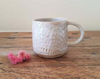 Sea sand mug
