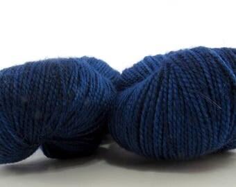Magic. Indigo. Fingering weight 100g. Indigo sock yarn. Indigo yarn. Sock yarn. Superwash merino sock yarn. Hand dyed sock yarn.