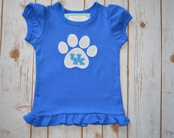 Kentucky Wildcats Applique- Portion of sales donated to Cure SMA