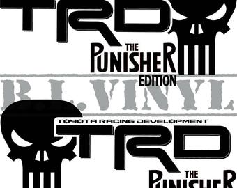 TRD 'Punisher Edition' Decal Set