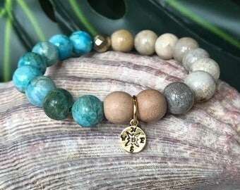 Direct Me To The Beach ~ Aromatherapy ~ Essential Oil ~ Diffuser Bracelet