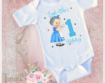 Baby Alice in Wonderland Birthday; Wonderland Birthday; Alice Wonderland 1st Birthday; Wonderland 2nd Birthday