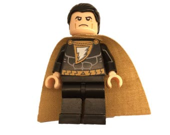 LEGO minifigures Custom - Shazam Made with Original LEGO Parts