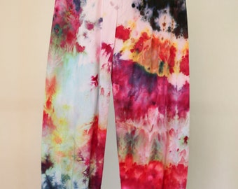 Baby Tie Dyed Rayon Harem Pants - Size 2 - Cotton - Girls - Boho - Boy - Beach - Gypsy - FREE SHIPPING within AUS