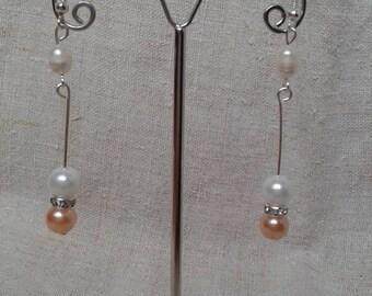 """Earrings """"set of pearls"""""""