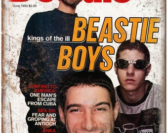 "Details Magazine Beastie Boys Adam Yauch 10""x7"" Reproduction Metal Sign K32"