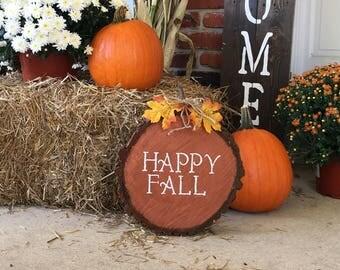 Happy Fall Porch Decor