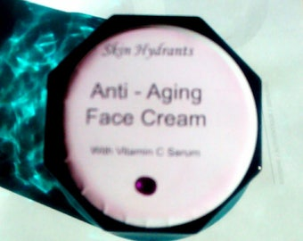 Face Lotion,Free Shipping, Lotion For Face, Face Cream, Anti Aging Face Cream, Vitamin C Serum, 2 oz