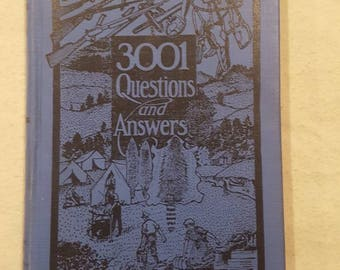 3001 Questions and Answers by A.R. Harding.  6th Edition, 1941.