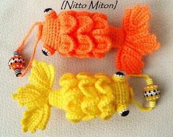 Knitted fish