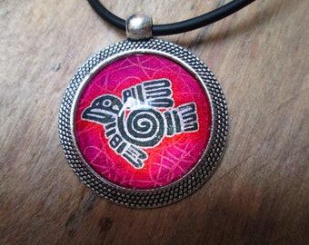 Zozio pink mexican symbol