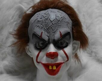 Stephen King's It Mask Scary Joker Mask Pennywise It Clown Mask