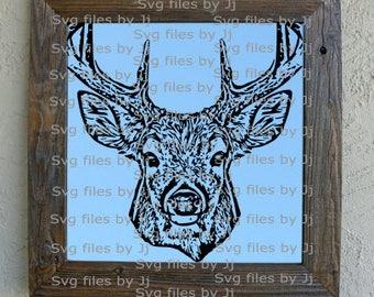 Realistic Deer Svg File