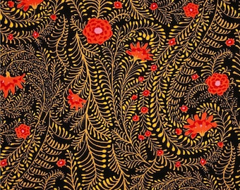 KAFFE FASSET FERNS PWPG 147 PATCHWORK fabric