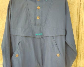 Vintage Columbia Windbreaker Free Shipping