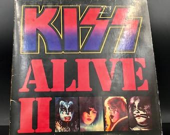KISS - ALIVE II - Vinyl Lp Record - Rare Gatefold Edition - Great Gift!