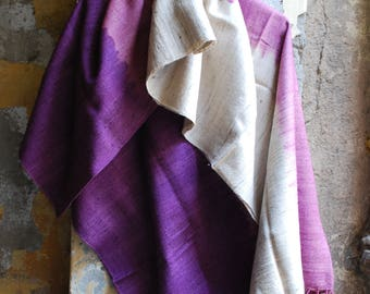 Handwoven Traditional  Silk Shawl