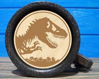 Jurassic World Beer Mug, Jurassic World Beer Stein, Custom Beer Mug, Gift for Gamer, Jurassic Park Tankard, Gift for Him