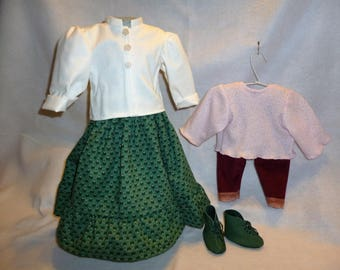 Green Skirt and Valour Pants Outfits