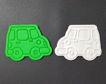 Car Cookie Cutter and Stamp
