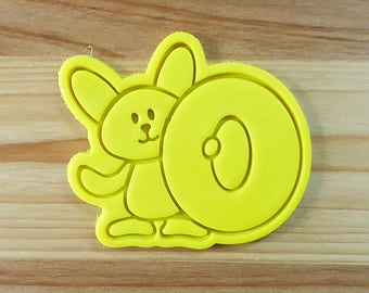 Bunny O Cookie Cutter and Stamp