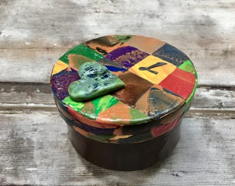 Quilt themed box