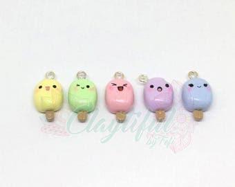 Kawaii Popsicle Charms