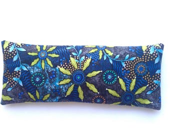Yoga Eye Pillow Organic Lavender Flax Seed Yogi Gifts Yoga Teacher Gift Aromatherapy Removable Cover Custom Prints Available