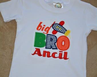 Big Brother Shirt - Airplane Shirt - Sibling Shirt