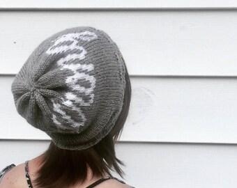 Anise Custom Hat PATTERN // knit summer beanie // spring beanie // monogram