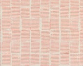 Cotton + Steel Sienna - Hearth Peach - Unbleached Quilting Cotton - Alexia Marcelle Abegg - Fabric by the Yard - Desert Theme Fabric