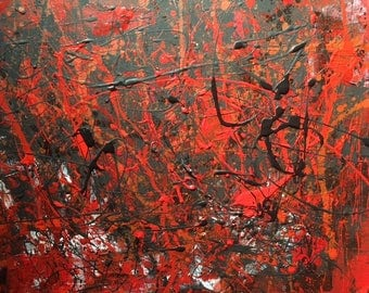 Abstract Painting, 25% OFF SALE with coupon code JULYSPECIAL25 at checkout: The Fall