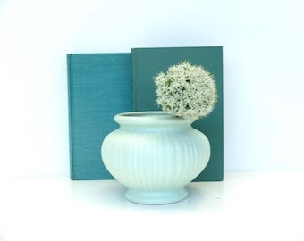 Vintage Terrace Ceramics Urn Vase, Seafoam Green, Seaside Decor