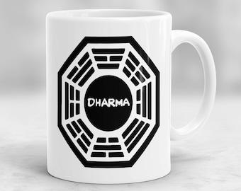 Lost Mug, Dharma Initiative Mug, Lost Cup P184