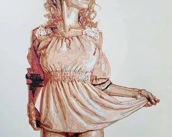 Old Fashion Beauty