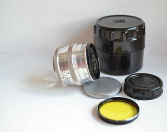 JUPITER-3 1.5/50 M39 Russian USSR Rare Lens S/N 6008484, 1960 year!